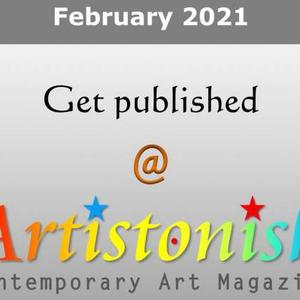 Get Published in 7th issue of Artistonish Contemporary Art Magazine Art Competition