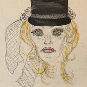 Lady in a Hat Art Competition